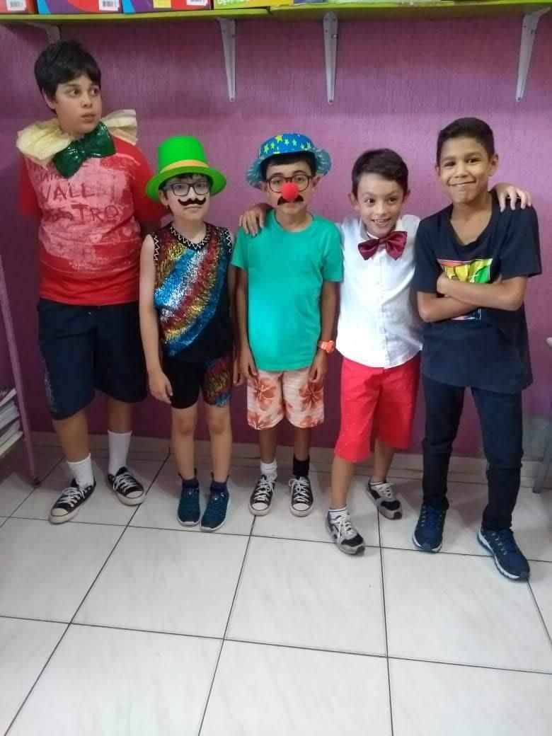 DIA DO CIRCO NA PAÊ